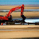 Beach Excavation  by John Hare
