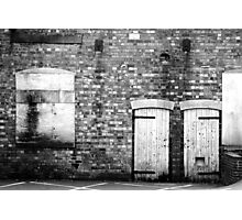 Boarded Up Photographic Print