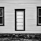 A Door and Two Windows by Richard Ruddle