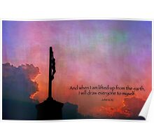 And when I am lifted up from the earth . . . Poster