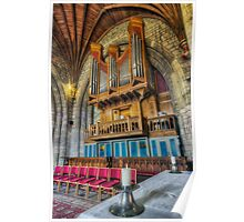 Cathedral Organ Poster