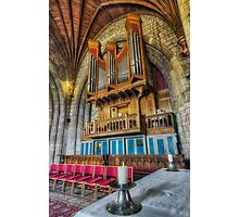 Cathedral Organ Photographic Print