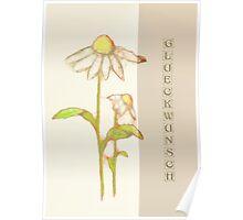 Scribbler-Echinacea Poster