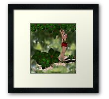Nettle Hailfly - The Tree Elf Framed Print