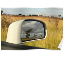 reflections, the kruger national park Poster
