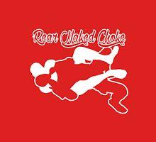 Rear Naked Choke Mixed Martial Arts White  T-Shirt