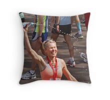 Nell McAndrew Throw Pillow
