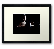 Baby Doll Grown Up. Framed Print