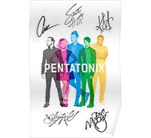 Signed Pentatonix Poster