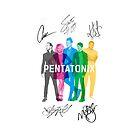 Signed Pentatonix by ninjaliv