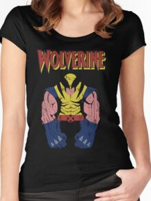 Wolverine X men Women's Fitted Scoop T-Shirt