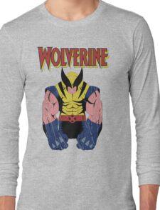 Wolverine X men Long Sleeve T-Shirt