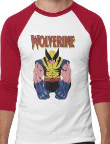 Wolverine X men Men's Baseball ¾ T-Shirt