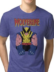 Wolverine X men Tri-blend T-Shirt