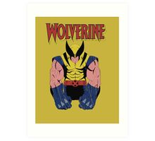 Wolverine X men Art Print