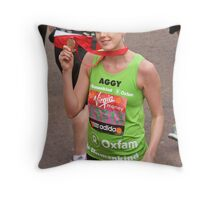 Agyness Deyn Throw Pillow