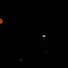 Red Moon At Night by AndrewBerry