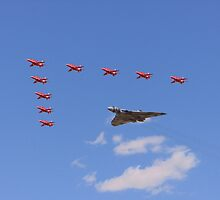 Salute of the Vulcan by Andy Thomson Photography