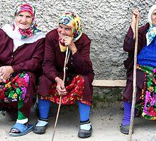 Pomac women in traditional dress by Atanas Bozhikov NASKO