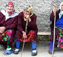 Pomac women in traditional dress by Atanas Bozhikov