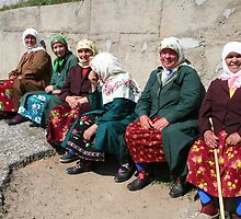 Pomac women in traditional dress by Atanas Bozhikov Nasko