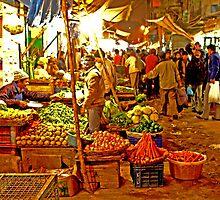 Delhi Night Markets by Amos Rojter