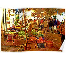 Delhi Night Markets Poster