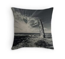Conversations in time Throw Pillow