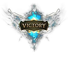 "GEEK - League Of Legend ""Victory"" Photographic Print"