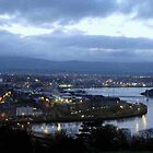 Derry view - Evening - Ireland  by mikequigley