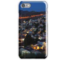 Yialos night time, Symi iPhone Case/Skin