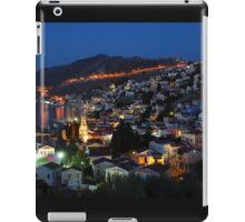 Yialos night time, Symi iPad Case/Skin