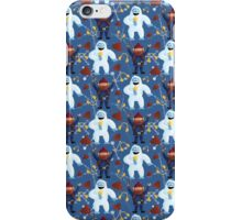 Yukon and Bumble with Hats and Muffs iPhone Case/Skin