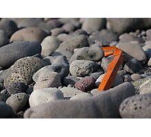 Rusted iron bar Photographic Print