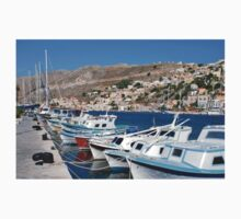 Yialos harbour on Symi Kids Clothes