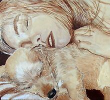 Maggie and Bo by Yvonne Carter