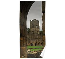 At Fountains Abbey Poster