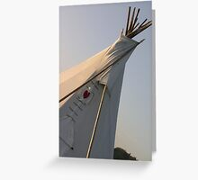 Teepee up close Greeting Card
