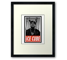 CELEB - Ice Cube Framed Print