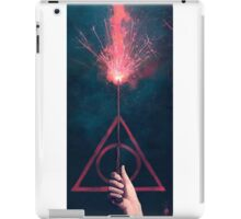 Expelliarmus harry potter iPad Case/Skin