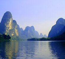 Li River, China Subject: Landscape, river, Guilin by fotinos
