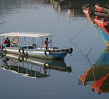 Boat in Sanya, China - Fine Art - Landscape by fotinos