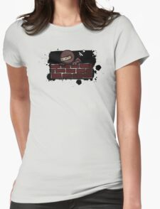 Ninja Sneak Womens Fitted T-Shirt