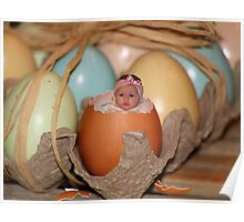 Look who just hatched! Poster