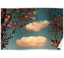 April Clouds Poster