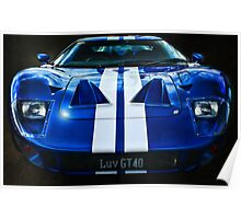Luv GT40 Poster