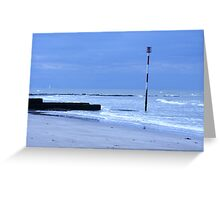 Herne Bay Coast Greeting Card