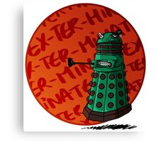 dalek are cute Canvas Print