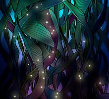 Nocturne (with Fireflies) by angelo cerantola