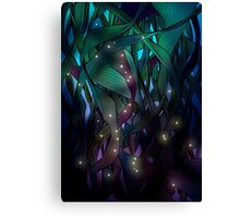 Nocturne (with Fireflies) Canvas Print